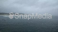 Animal, Architecture, Asphalt, Beach, Bird, Boat, Building, Cliff, Coast, Dock, Fog, Freeway, Highway, Horizon, Land, Landscape, Nature, Ocean, Office Building, Outdoors, Panoramic, Pier