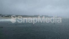 Building, Coast, Dock, Flood, Horizon, Human, Ice, Land, Landscape, Nature, Ocean, Outdoors, Panoramic