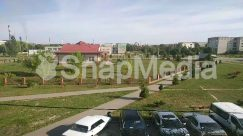 Aerial View, Asphalt, Automobile, Building, Car, Coupe, Grass, Human, Intersection, Landscape, Machine, Nature, Neighborhood, Outdoors, Parking