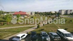 Abies, Aerial View, Automobile, Building, Campus, Car, Caravan, Countryside, Coupe, Fir, Grass, Housing, Human, Intersection, Landscape, Nature, Neighborhood, Outdoors, Parking, Parking Lot