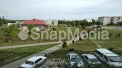 Abies, Aerial View, Asphalt, Automobile, Boat, Building, Bus, Campus, Car, Coupe, Fir, Grass, Human, Intersection, Landscape, Nature, Neighborhood