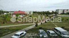 Abies, Aerial View, Asphalt, Automobile, Boat, Building, Campus, Car, City, Coupe, Fir, Grass, Human, Intersection, Landscape