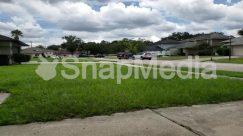 Asphalt, Automobile, Building, Car, City, Cloud, Coupe, Field, Grass, Housing, Intersection, Lawn, Machine, Nature, Neighborhood, Outdoors, Park, Path, Pavement, Plant