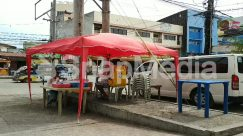 Abies, Automobile, Awning, Building, Bus, Cafe, Cafeteria, Canopy, Car, Chair, City, Countryside, Fir, Flagstone, Food, Food Court, Furniture, Human, Kiosk, Machine, Meal, Minibus, Motorcycle, Nature