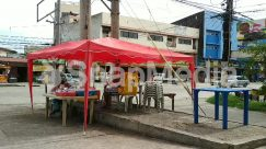 Asphalt, Automobile, Awning, Building, Cafe, Cafeteria, Canopy, Car, Chair, City, Countryside, Flagstone, Food, Food Court, Furniture