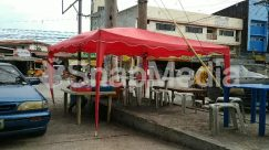 Automobile, Awning, Bazaar, Building, Bus, Cafe, Cafeteria, Canopy, Car, Chair, City, Countryside, Food, Food Court, Furniture, Human, Kiosk