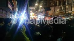 Apparel, Arcade Game Machine, Audience, Bar Counter, Bazaar, Building, Carnival, Celebrating, City, Clothing, Club, Crowd, Display, Electronics, Face, Festival, Flare, Hair, Helmet, Human, Indoors, Interior Design, LCD Screen, Leisure Activities, Light