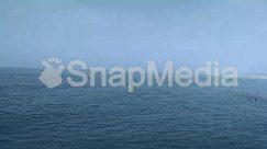 Azure Sky, Battleship, Coast, Horizon, Human, Nature, Ocean, Panoramic, Ripple, Water