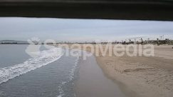 Animal, Bay, Beach, Bird, Coast, Land, Landscape, Nature, Ocean, Outdoors, Panoramic, Sand, Scenery, Sea, Sea Waves, Shoreline, Water