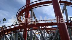 Amusement Park, Blue Sky, Cloud, Column, Construction Crane, Crane, Nature, Palm Tree, Sun Light, Tree