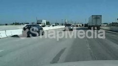 Architecture, Asphalt, Automobile, Building, Bumper, Car, City, Freeway, Highway, Intersection, Overpass, Path, Pedestrian, Road, Street, Tarmac, Town, Transportation, Truck, Urban, Vehicle