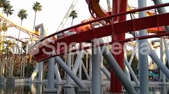 Amusement Park, Arbour, Architecture, Arecaceae, Bridge, Building, City, Coaster, Condo, Construction Crane, Garden, Housing, Metropolis, Outdoors, Palm Tree, Plant, Roller Coaster, Theme Park, Town, Tree, Urban