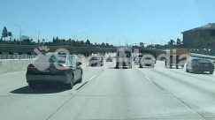 Truck,Street,Road,Overpass,Highway,Freeway,Car,Bus,Bridge,Automobile