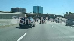 Vehicle,Urban,Transportation,Traffic Jam,Town,Sedan,Road,Highway,Freeway,Car,Bridge,Automobile,Asphalt