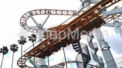 Adventure, Amusement Park, Coaster, Construction Crane, Leisure Activities, Riding Bicycle, Roller Coaster, Theme Park
