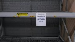 empty shelves,coronavirus
