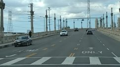 Architecture, Asphalt, Automobile, Building, Cable, Car, City, Control Tower, Dome, Electric Transmission Tower, Freeway, Grand Theft Auto, High Rise, Highway, Human, Intersection, Light, Overpass, Person, Power Lines, Road, Spire, Steeple, Street, Tarmac, Tower, Town, Traffic Light, Transportation, Urban, Utility Pole, Vehicle