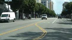 Intersection,Downtown,City,Car,Bus Stop,Bus,Building,Bike,Bicycle,Automobile,Architecture,Apartment Building
