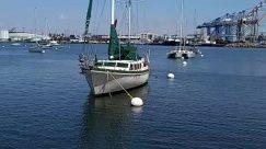 Barge, Boat, Dinghy, Dock, Harbor, Marina, Nature, Outdoors, Pier, Port, Sailboat, Ship, Transportation, Vehicle, Vessel, Water