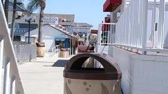 Human, Person, Tin, Can, Trash Can, Transportation, Vehicle, Hot Tub, Jacuzzi, Tub, Porch, Barrel