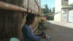 Person, Apparel, Clothing, Urban, Building, Road, Town, Street, City, Animal, Flagstone, Smoking,covid-19