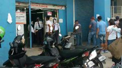 Person, Apparel, Clothing, Helmet, Transportation, Motorcycle, Vehicle, Vespa, Motor Scooter, inspection first, SOP on establishment, anti covid-19, Social distancing