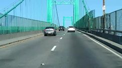 Road, Building, Vehicle, Automobile, Car, Transportation, Bridge, Freeway, Highway, Suspension Bridge, Arch Bridge, Arched, Arch, City, Street