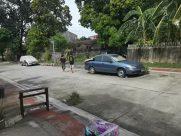 Automobile, Vehicle, Car, Road, Urban, Street, Town, Building, City, Plant, Vegetation, Furniture, Path, Bench, Parking