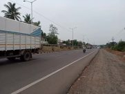 Road, Truck, Vehicle, Motorcycle, Freeway, Highway, Asphalt, Tarmac, Automobile, Car, Bus, Urban, Fire Truck, Plant, Tree