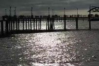 Water, Waterfront, Dock, Pier, Port, Bridge, Building, People