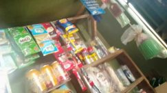 Furniture, Shelf, Cabinet, Food, Medicine Chest, Confectionery, Sweets, Drawer, Toy, Candy, Shop, Grocery Store, Market, Medication, Pantry