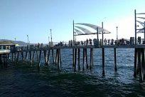 Water, Waterfront, Dock, Pier, Port, Bridge, Building, Harbor, People