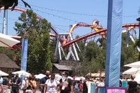 Amusement Park, Theme Park, Coaster, Roller Coaster, social distancing, mask