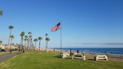 Grass, Plant, Symbol, Flag, Lawn, American Flag, Field, Vehicle, Park, Water, Tree, Landscape, Furniture, Automobile, Car