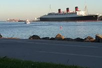 Boat, Ship, Water, Vessel, Watercraft, People, queen mary