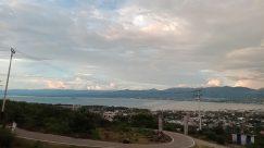 Road, Landscape, Freeway, Highway, Aerial View, Weather, Building, Sky, Cloud, Cumulus, Roof, Intersection, Vegetation, Plant, Construction Crane