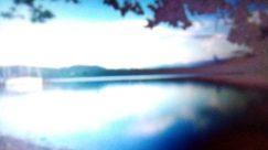 Water, Panoramic, Landscape, Flare, Light, Sky, Reservoir, Shoreline, Lake, Ocean, Sea, Screen, Electronics, Sunlight, Boat