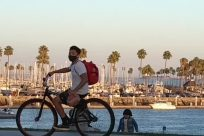 Bicycle, Bike, Vehicle, Water, Dock, Harbor, Pier, Port, Waterfront, Wheel, Building, Town, City, Vacation, Metropolis