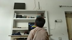 Screen, Display, Electronics, Monitor, LCD Screen, Furniture, Shelf, Television, TV, Table, Entertainment Center, Desk, Computer, Pc, Bookcase