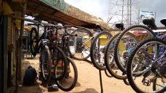 Wheel, Bicycle, Bike, Vehicle, Mountain Bike, Workshop, Spoke, Tire, Automobile, Car, Parking, Parking Lot