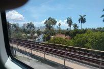 Rail, Train Track, Railway, Condo, Building, Housing, Balcony, Vehicle, Train, Town, City, High Rise, Office Building, Train Station, Terminal