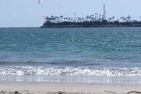 Water, Ocean, Sea, Shoreline, Beach, Coast, Vehicle, Waterfront, Sea Waves, Military, Sport, Sports, Navy, Cruiser, Ship