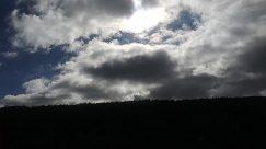 Weather, Grassland, Field, Cumulus, Sky, Cloud, Slope, Flare, Light, Mound, Azure Sky, Sunlight, Countryside, Silhouette, Mountain