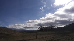 Slope, Weather, Sky, Cloud, Cumulus, Field, Grassland, Plateau, Countryside, Soil, Sand, Hill, Landscape, Panoramic, Ground