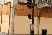 Light, Shop, Traffic Light, Prison, Wood, Building, Garage, Door, Gate, Text, City, Town, Housing, Handrail, Banister